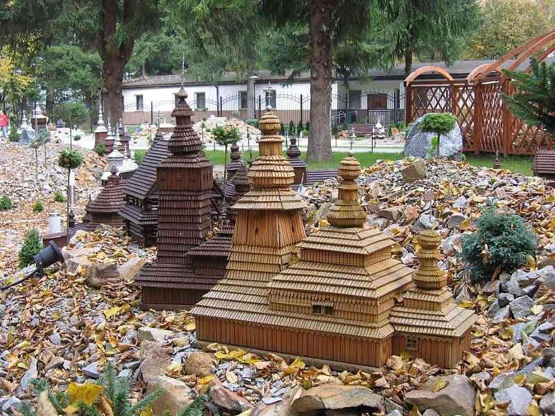 Makieta świątyni