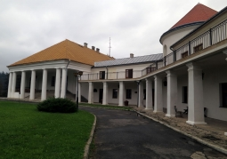 Późnogotycka fasada zamku