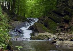 Bieszczadzki wodospad