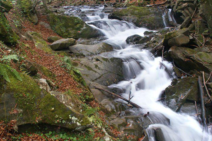 Wodospad na potoku Hylatym
