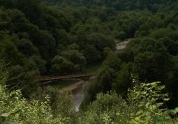 Rezerwat przyrody Przełom Osławy pod Duszatynem - Ciśniańsko-Wetliński Park Krajobrazowy