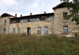 Ruiny dworu Herburtów - Uherce Mineralne