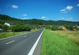 Główna arteria wsi