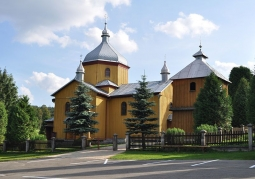 Drewniana cerkiew w Leszczowatem
