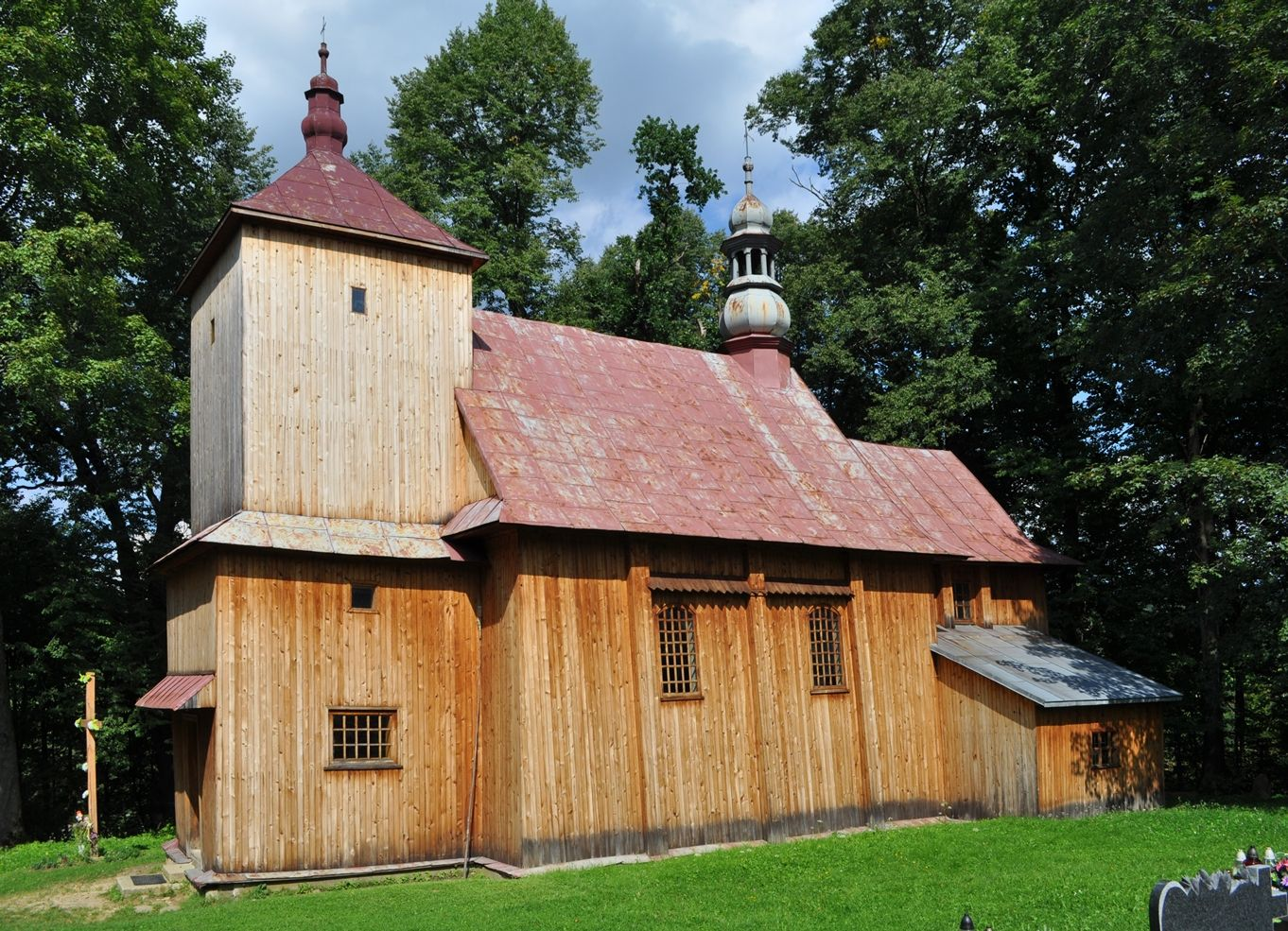 Drewniana cerkiew w Paszowej