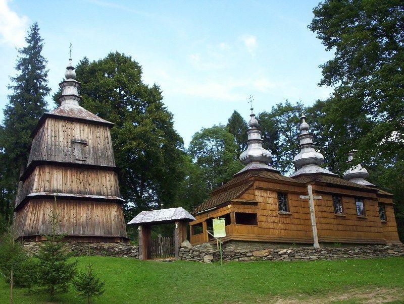 Cerkiew wraz z dzwonnicą