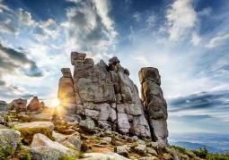 Formacja skalna Słonecznik - Karkonoski Park Narodowy