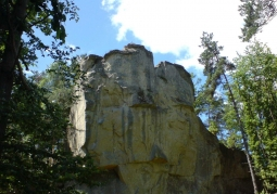 Kamień Leski - Glinne
