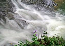 Wodospad Kasarda na Osławie