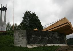 Pomnik Poległym w walce o utrwalanie władzy ludowej - Cisna