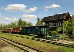 Stacja Bachórz kolejki wąskotorowej
