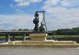 Pomnik Warszawskiej Syrenki na Powiślu