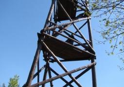 Wieża widokowa na górze Baranie - Magurski Park Narodowy