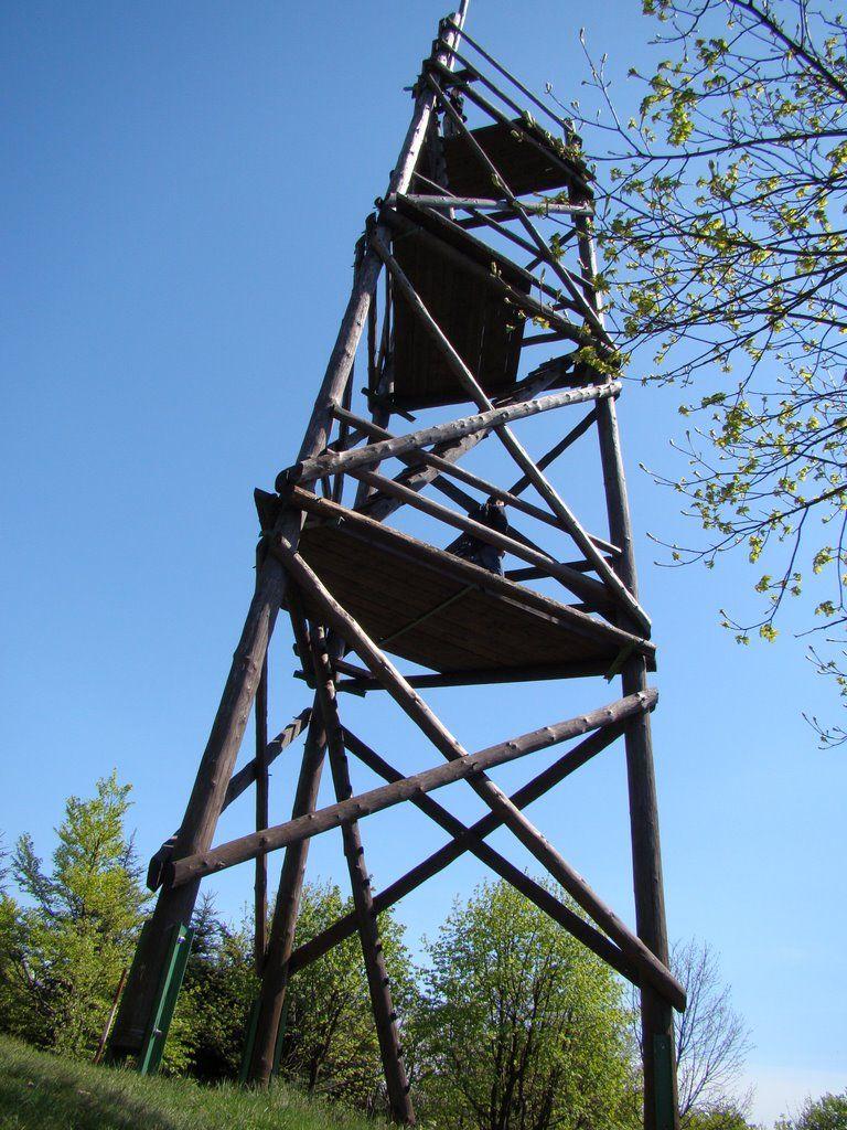 Wieża widokowa na górze Baranie