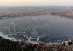 Jezioro Firlej zima