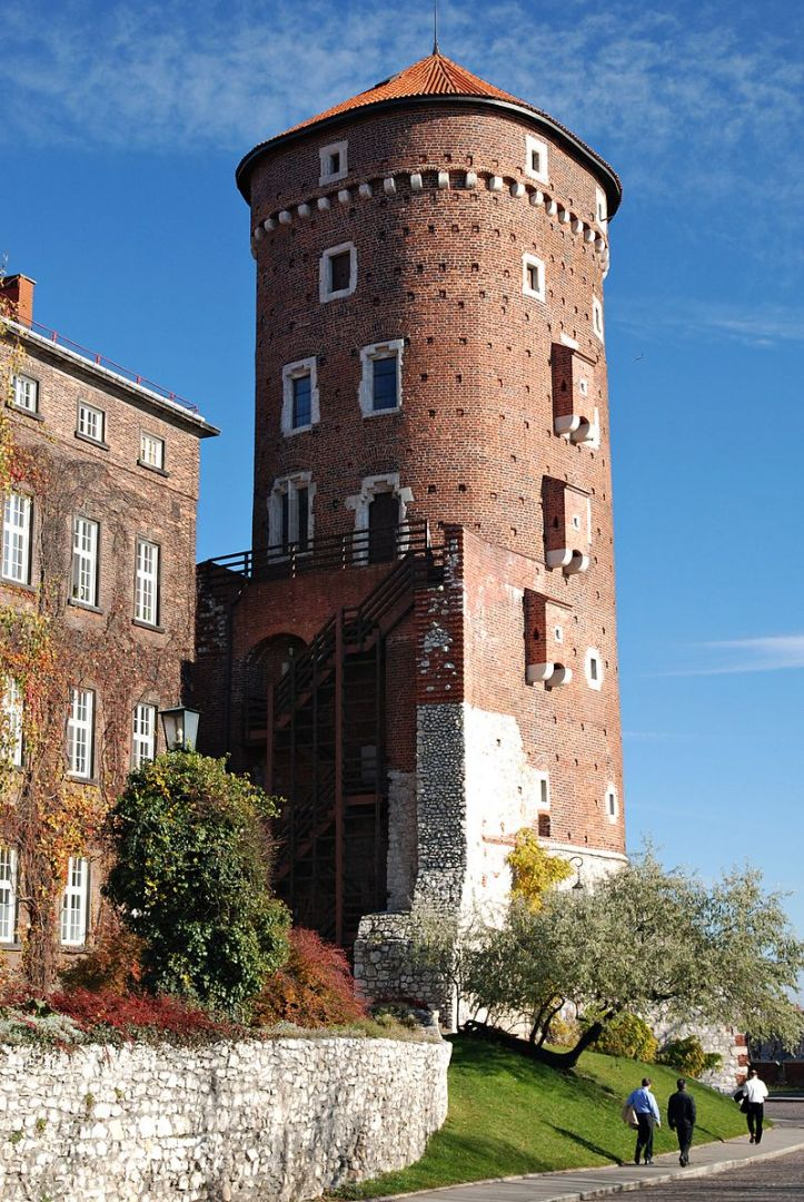 Baszta Sandomierska na Wawelu
