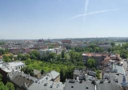 Panorama z Baszty Sandomierskiej