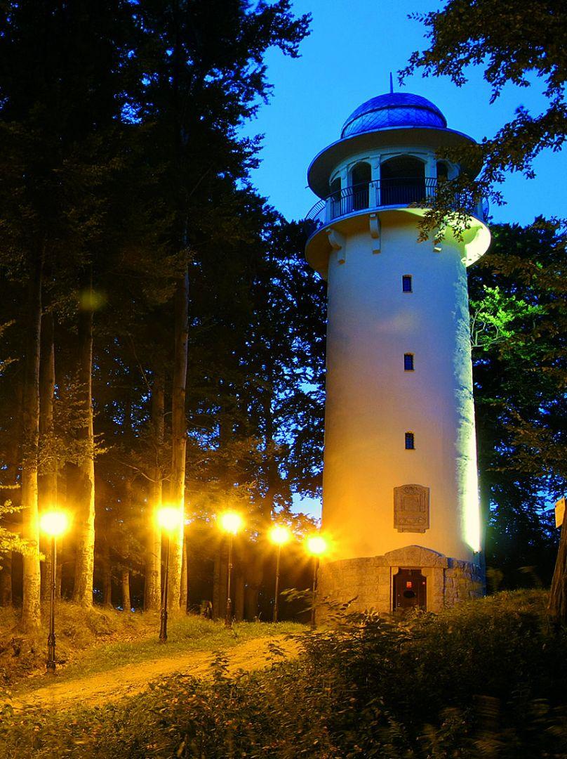 Wieża widokowa Grzybek Wzgórze Krzywoustego