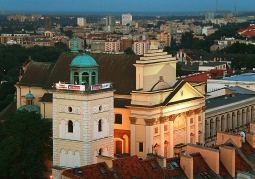 Taras widokowy Krakowskie Przedmieście