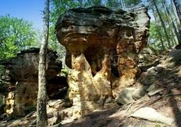 Rezerwat przyrody Skałki Piekło - Niekłan Wielki