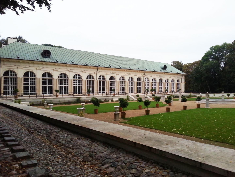 Stara Pomarańczarnia łazienki Królewskie Warszawa