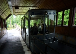 Kolejka na Górę Parkową - Krynica-Zdrój