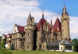 Zamek rodu Tiele-Wincklerów - Moszna