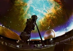 Wnętrze sali planetarium