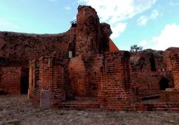 Zamek Krzyżacki - fragmenty zamku
