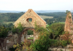 Widok z ruin
