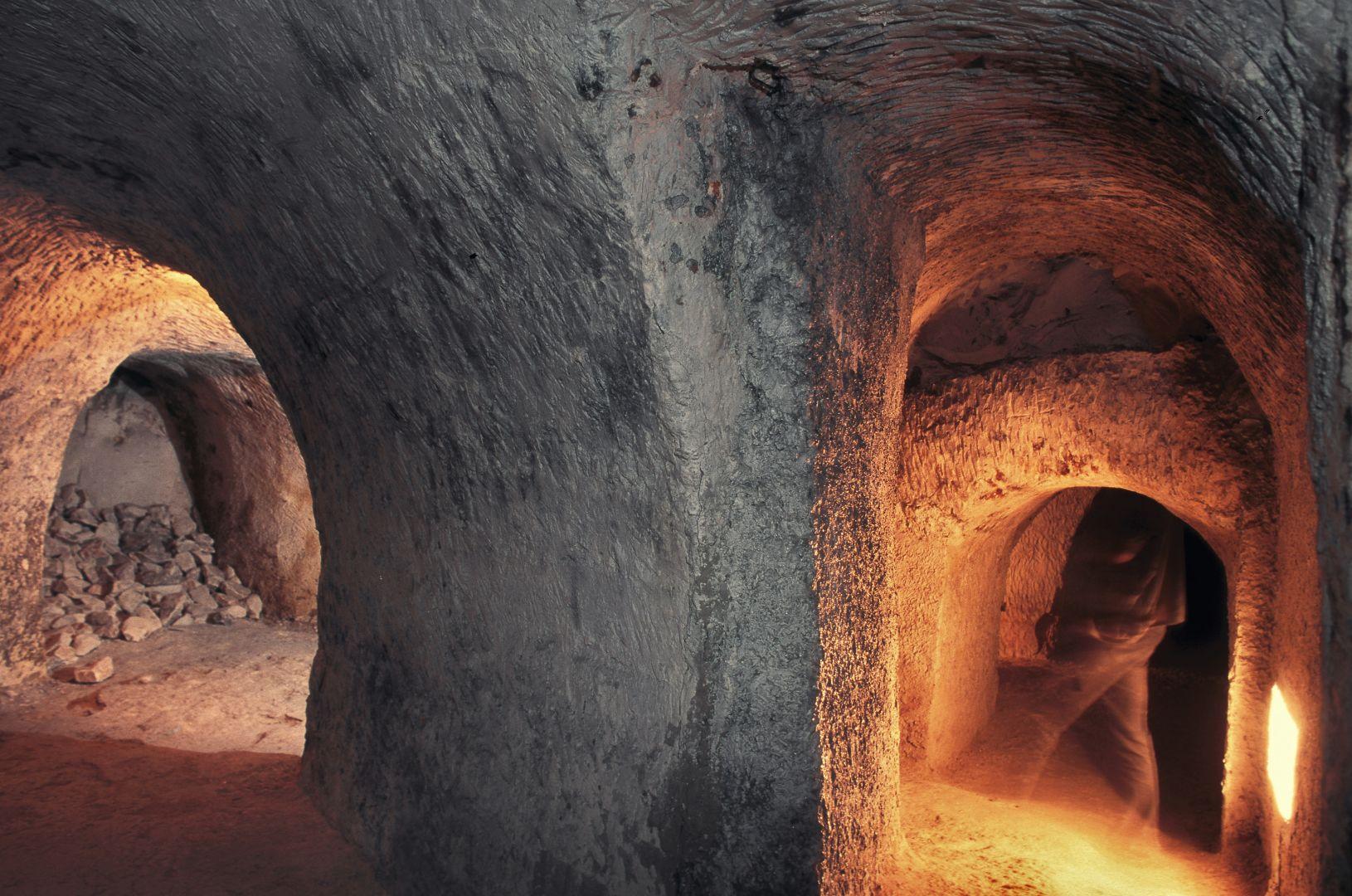 Kredowe tunele