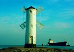 Stawa Młyny - wiatrak