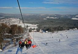 Wyciąg narciarski Zagroń - Istebna