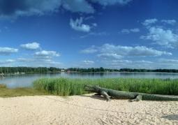 Jezioro Białe - plaża