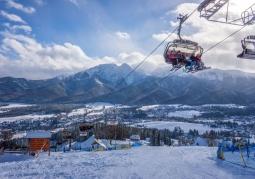 Stok z widokiem na Tatry