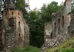 Ruiny zamku książęcego