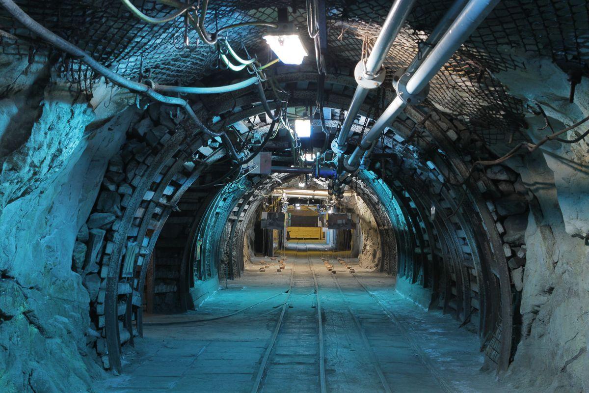 Korytarz kopalni