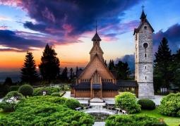 Kościół Wang (Kościół Górski Naszego Zbawiciela) - Karpacz