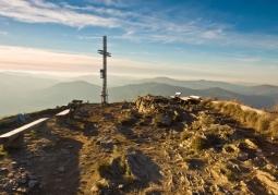Południowy wierzchołek z żelaznym krzyżem