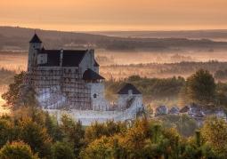 Zamek o świcie