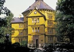 pałac myśliwski  widok z oddali