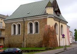 Synagoga widok z północy