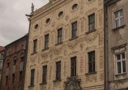 Fasada Pałacu Dąmbskich