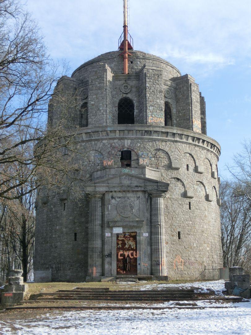 wieża widok frontowy