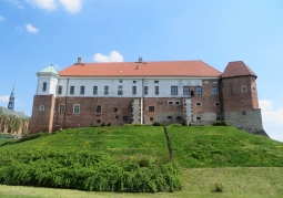 Zamek Królewski wiosną