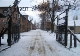Brama obozowa w Auschwitz I
