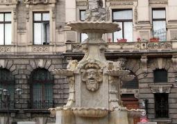 Fontanna na Placu Orła Białego