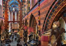 Wnętrze Kościoła Mariackiego