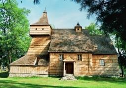 Drewniany kościół św. Marcina - Grywałd