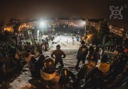 Widok na plac Zamkowy podczas Sportivalu, rok 2014
